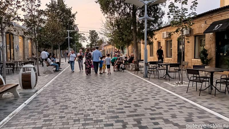 Старый Дербент. Переулок- Кази-бека