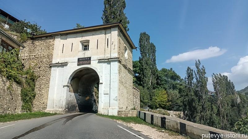ворота барятинского в гунибе