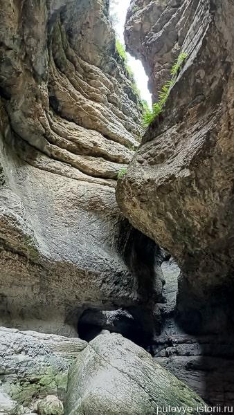 салтинский водопад